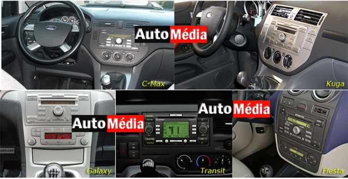 autoradio gps kuga c max transit galaxy et fiesta auto m dia. Black Bedroom Furniture Sets. Home Design Ideas