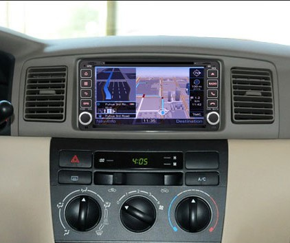 autoradio gps dvd tactile pour toyota rav4 hilux corolla auto media. Black Bedroom Furniture Sets. Home Design Ideas