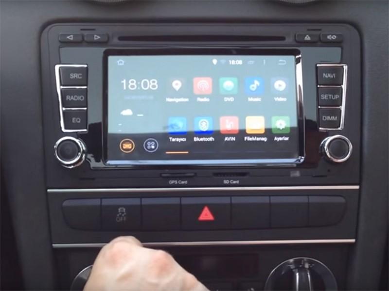 autoradio android 5 1 gps audi a3 wifi dvd usb bluetooth autoradio android. Black Bedroom Furniture Sets. Home Design Ideas