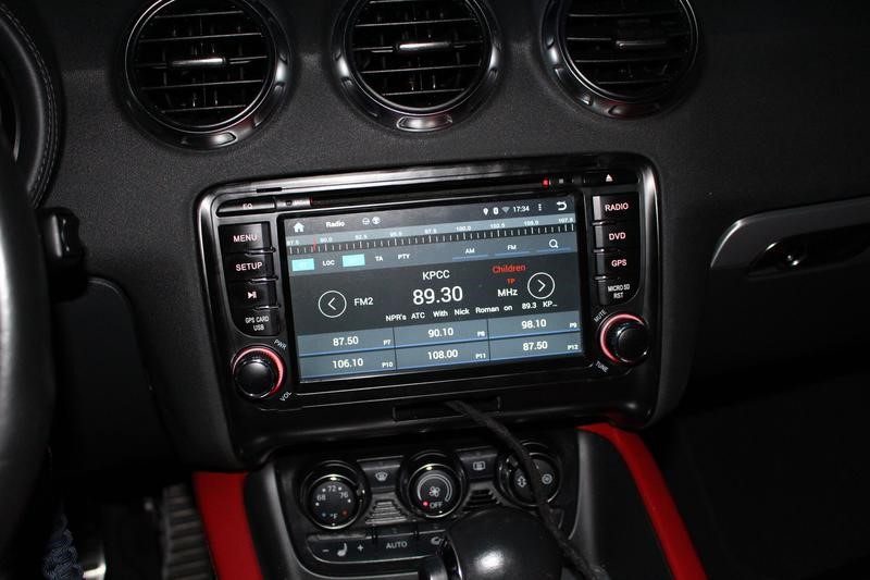 autoradio android 7 1 audi tt gps dvd tactile bluetooth audi tt hightech. Black Bedroom Furniture Sets. Home Design Ideas