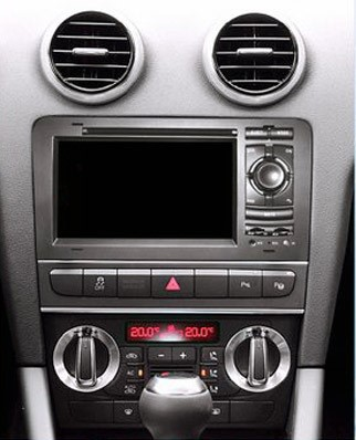 autoradio gps audi a3 cran tactile 7 pouces hightech privee. Black Bedroom Furniture Sets. Home Design Ideas