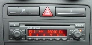 autoradio 1 din motoris alpine poste ccd dvd mp3 wma audi a3 autoradios. Black Bedroom Furniture Sets. Home Design Ideas