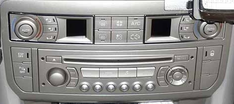 autoradio 1 din citroen c5 peugeot 407 avec cd usb mp3 bluetooth autoradios. Black Bedroom Furniture Sets. Home Design Ideas