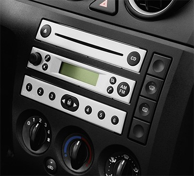 autoradio 1 din ford fiesta fusion avec cd usb mp3. Black Bedroom Furniture Sets. Home Design Ideas