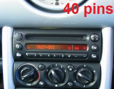 autoradio 1 din mini avec cd usb mp3 bluetooth mercedes autoradios. Black Bedroom Furniture Sets. Home Design Ideas
