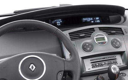 autoradio 1 din renault scenic iii avec cd usb mp3 bluetooth renault autoradios. Black Bedroom Furniture Sets. Home Design Ideas