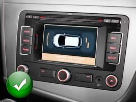 autoradio 1 din seat leon alhambra avec cd usb mp3 bluetooth seat autoradios. Black Bedroom Furniture Sets. Home Design Ideas