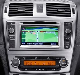 toyota avensis acheter votre poste radio 2 din avec cd usb bluetooth. Black Bedroom Furniture Sets. Home Design Ideas