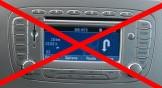 Ford escorte radio bruit
