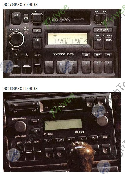 Volsc on 2000 Volvo S70 Radio
