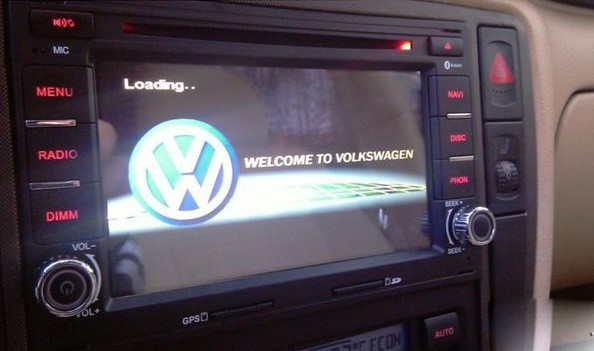 autoradio gps dvd volkswagen golf 4 autoradio polo lupo passat hightech privee. Black Bedroom Furniture Sets. Home Design Ideas