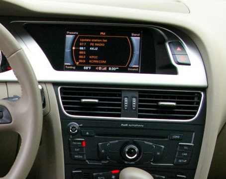 audi a4 a5 2008 2014 android 3g wifi auto radio gps mirrorlink airplay 4g s160 bluetooth ipod. Black Bedroom Furniture Sets. Home Design Ideas