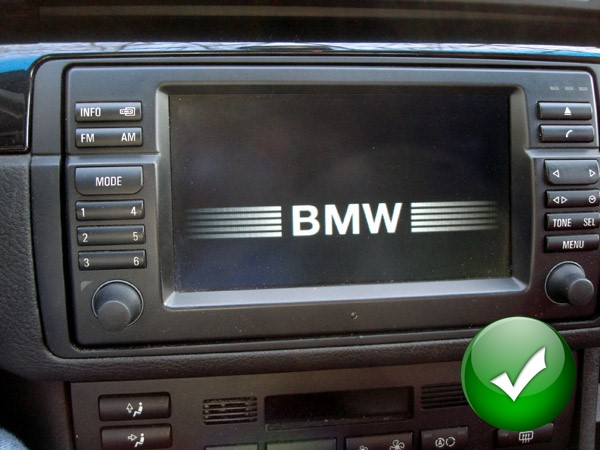autoradio gps bmw serie 3 e46 de 1998 2006 rallonge de. Black Bedroom Furniture Sets. Home Design Ideas