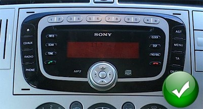 poste gps ford kuga s max autoradio dvd mondeo transit autoradios gps. Black Bedroom Furniture Sets. Home Design Ideas