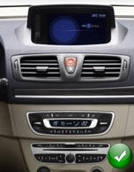 poste renault megane 3 autoradio gps dvd usb bluetooth. Black Bedroom Furniture Sets. Home Design Ideas