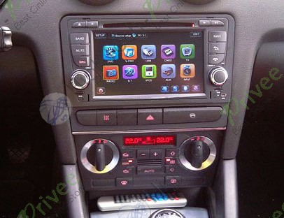 autoradio 2 din 7 cran tactile hd gps europe dvd divx usb aux ipod tv audi a3 ebay. Black Bedroom Furniture Sets. Home Design Ideas