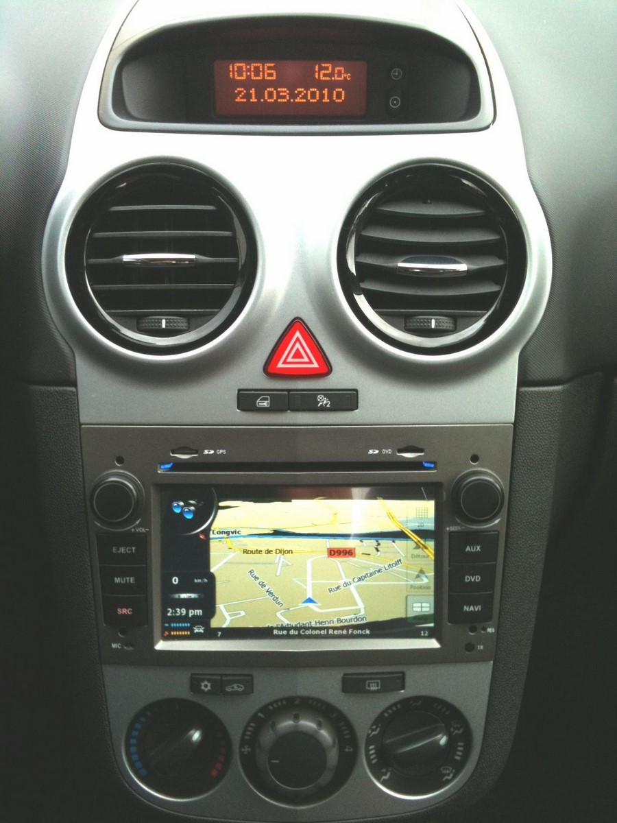 poste gps opel autoradio android mains libres usb dvd autoradios. Black Bedroom Furniture Sets. Home Design Ideas