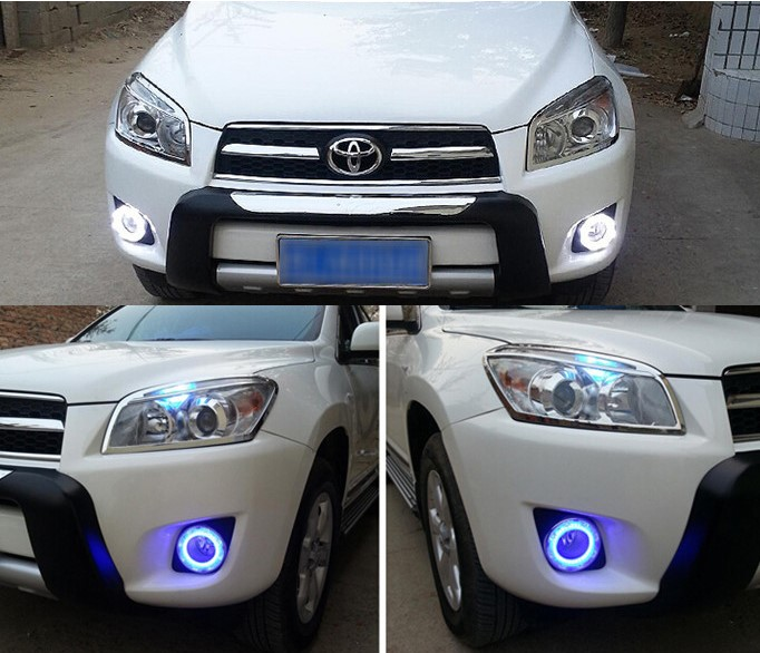 drl feux diurnes led toyota rav4 2011 2013 hightech privee. Black Bedroom Furniture Sets. Home Design Ideas