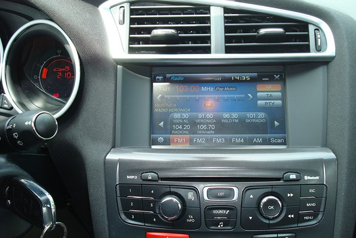 autoradio gps dvd cran tactile citroen c4 depuis 2011 et citro n ds4 ebay. Black Bedroom Furniture Sets. Home Design Ideas