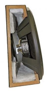 caisson clos plat actif 25 cm rockford r2s 1x10 avec subwoofer hightech privee. Black Bedroom Furniture Sets. Home Design Ideas