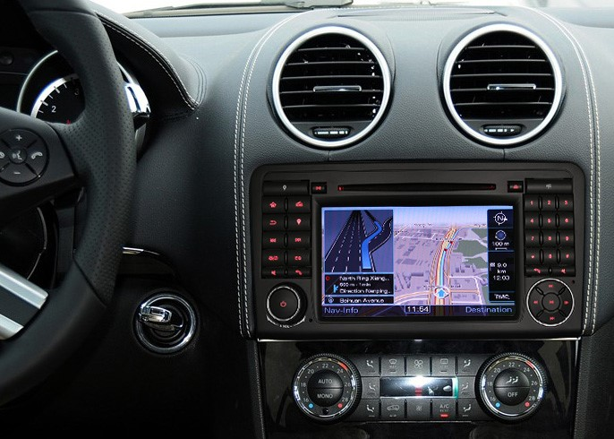 autoradio android gps wifi mirrorlink mercedes ml gl hightech. Black Bedroom Furniture Sets. Home Design Ideas