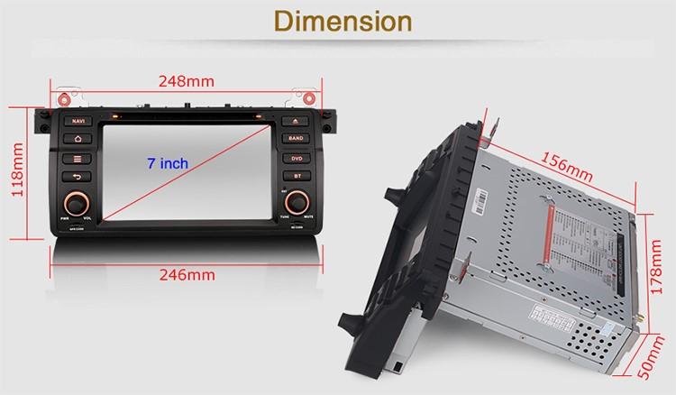 autoradio gps dvd bmw s rie 3 compatible bmw e46 hightech. Black Bedroom Furniture Sets. Home Design Ideas