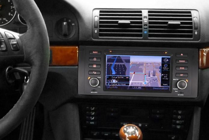 autoradio 2 din gps bmw s rie 5 e39 x5 e53 ecran tactile dvd hightech. Black Bedroom Furniture Sets. Home Design Ideas