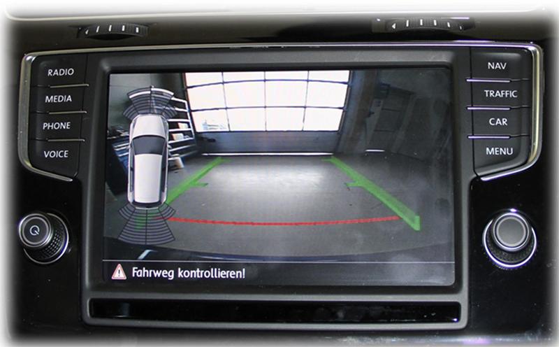 acheter votre cam ra de recul dans logo volkswagen golf 7 sur hightech. Black Bedroom Furniture Sets. Home Design Ideas