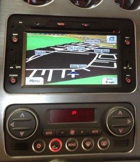 autoradio 2 din gps sygic europe cran tactile 7 dvd bluetooth alfa romeo 159 ebay. Black Bedroom Furniture Sets. Home Design Ideas