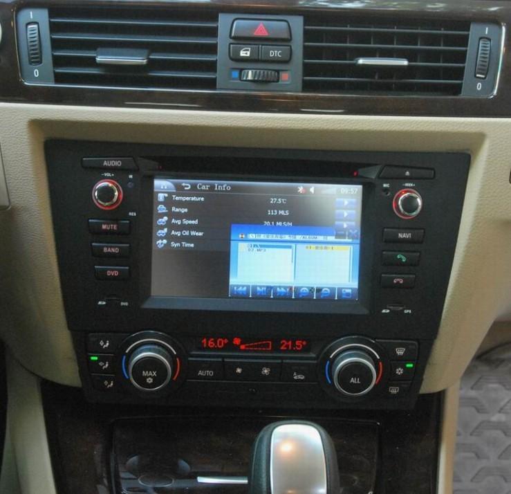 Branchement Autoradio Bmw E90