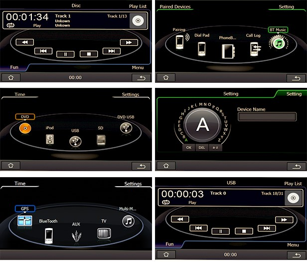 audi a1 s1 2011 2015 autoradio poste ecran tactile gps dvd usb sd ipod bluetooth tv. Black Bedroom Furniture Sets. Home Design Ideas