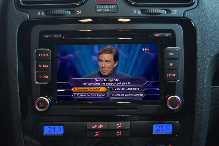how to play video on vw rcd510