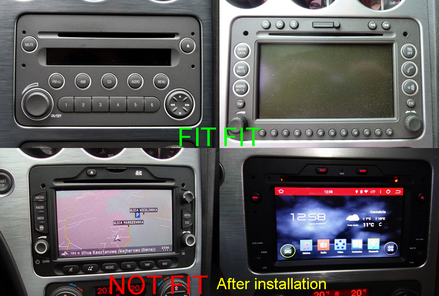 autoradio gps alfa romeo 159 spider brera poste gps dvd usb hightech. Black Bedroom Furniture Sets. Home Design Ideas