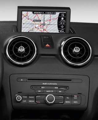 audi q3 2011 2015 autoradio poste ecran tactile gps dvd usb sd ipod bluetooth tv autoradio. Black Bedroom Furniture Sets. Home Design Ideas