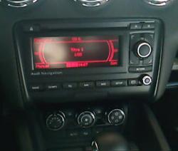 autoradio 2 din alpine audi tt multim dia usb bluetooth cd dvd autoradios. Black Bedroom Furniture Sets. Home Design Ideas