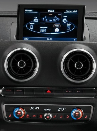 audi a3 depuis 2013 autoradio poste ecran tactile gps dvd usb sd ipod bluetooth tv autoradio. Black Bedroom Furniture Sets. Home Design Ideas