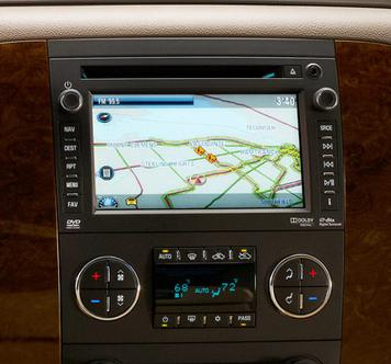 2009 emplacements d'installation de radio impala