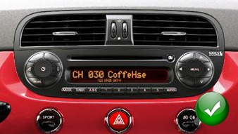 autoradio gps fiat 500 poste navigation kenwood fiat 500. Black Bedroom Furniture Sets. Home Design Ideas