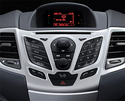 autoradio gps dvd bluetooth clarion ford fiesta cran tactile autoradios. Black Bedroom Furniture Sets. Home Design Ideas