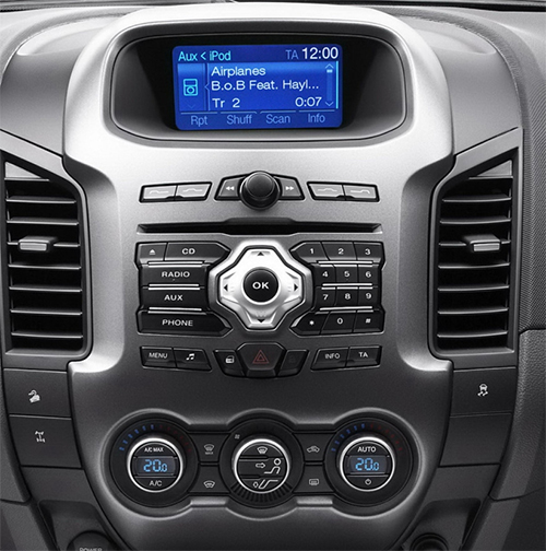 poste ford ranger autoradio gps dvd usb ford bluetooth streaming audio autoradios. Black Bedroom Furniture Sets. Home Design Ideas