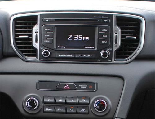 nouvel autoradio android 7 1 gps cran tactile kia sportage 2016 2017 autoradio. Black Bedroom Furniture Sets. Home Design Ideas
