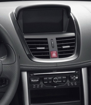 peugeot 207 autoradio poste tv usb sd gps tactile. Black Bedroom Furniture Sets. Home Design Ideas