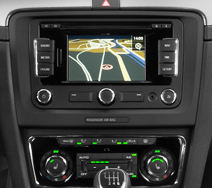 autoradio gps dvd skoda superb auto radio skoda superb hightech privee. Black Bedroom Furniture Sets. Home Design Ideas