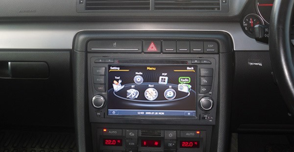 poste gps audi a4 autoradio android audi a4 mains libres usb dvd autoradios gps. Black Bedroom Furniture Sets. Home Design Ideas