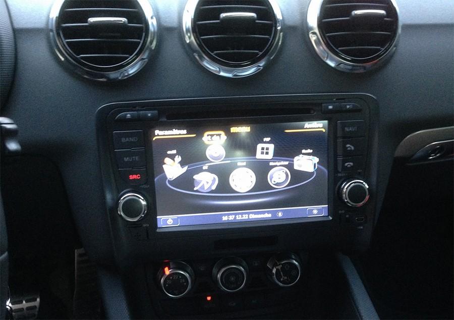 poste audi tt autoradio gps dvd usb audi bluetooth streaming audio autoradios. Black Bedroom Furniture Sets. Home Design Ideas