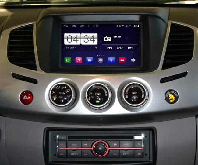 achetez votre autoradio android gps mitsubishi l200 pajero wifi cran tactile hightech. Black Bedroom Furniture Sets. Home Design Ideas