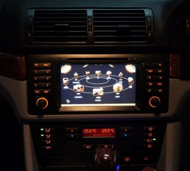 autoradio 2 din gps bmw s rie 5 e39 x5 e53 ecran tactile dvd hightech. Black Bedroom Furniture Sets. Home Design Ideas