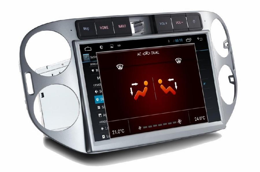 VW Tiguan 2012/2016 ANDROID 3G WIFI Volkswagen Car radio GPS