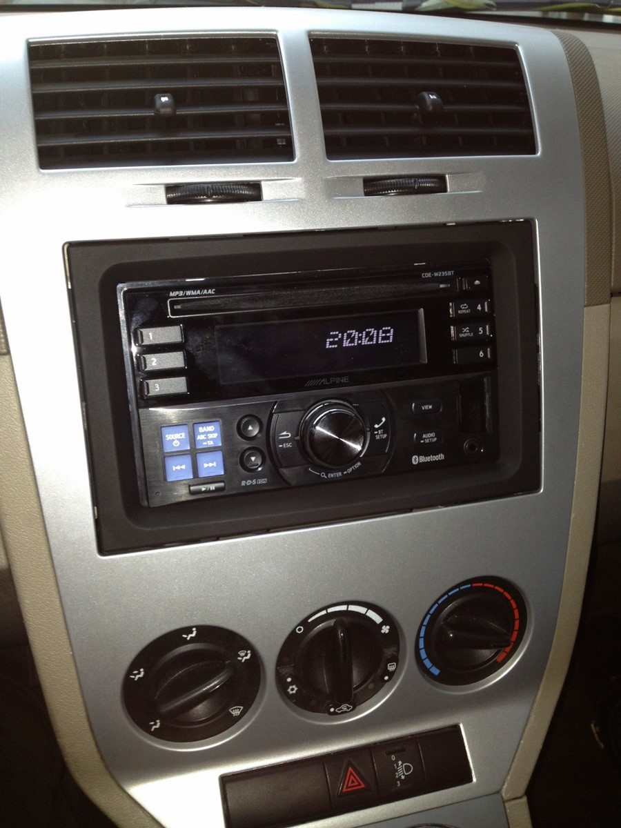 Autoradio 2 Din Alpine Dodge Avec Rej D Origine Usb Cd