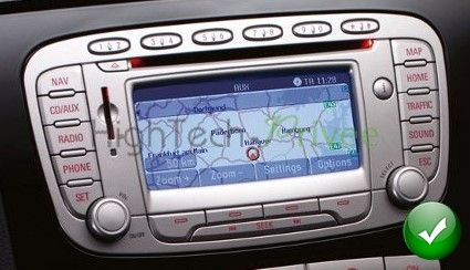 autoradio gps ford mondeo focus s max galaxy hightech. Black Bedroom Furniture Sets. Home Design Ideas